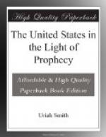The United States in the Light of Prophecy by Uriah Smith