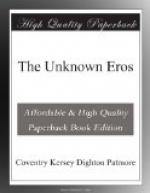 The Unknown Eros by Coventry Patmore
