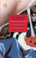 The Unknown Masterpiece by  Richard Howard  and Honoré de Balzac