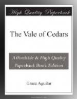 The Vale of Cedars by Grace Aguilar