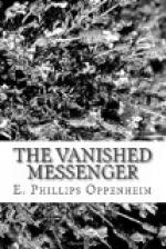 The Vanished Messenger by E. Phillips Oppenheim
