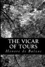 The Vicar of Tours by Honoré de Balzac