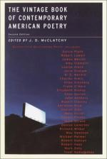 The Vintage Book of Contemporary American Poetry by J. D. Mcclatchy