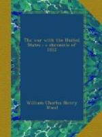 The War With the United States : A Chronicle of 1812 by