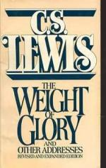 The Weight of Glory and Other Addresses by C. S. Lewis