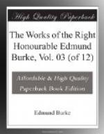The Works of the Right Honourable Edmund Burke, Vol. 03 (of 12) by Edmund Burke