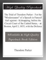 Theodore Parker by