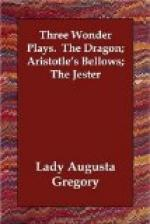 Three Wonder Plays by Augusta, Lady Gregory