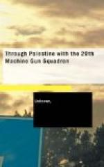 Through Palestine with the 20th Machine Gun Squadron by