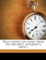 True Stories of Crime From the District Attorney's Office by