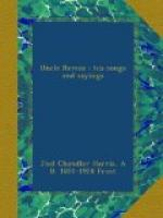 Uncle Remus, his songs and his sayings by Joel Chandler Harris