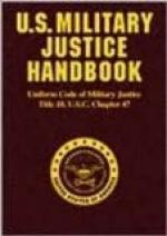 Uniform Code of Military Justice by