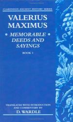 Valerius Maximus by