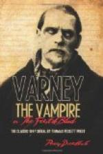 Varney the Vampire by Thomas Peckett Prest