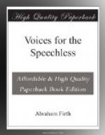 Voices for the Speechless by