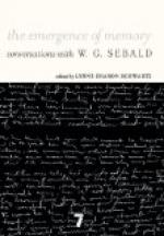 W. G. Sebald by