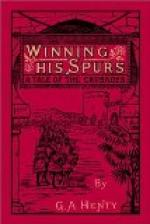 Winning His Spurs by G. A. Henty