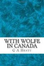With Wolfe in Canada by G. A. Henty