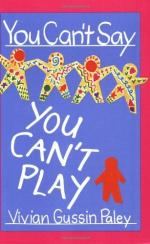 You Can't Say You Can't Play by Vivian Paley