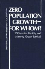 Zero population growth by
