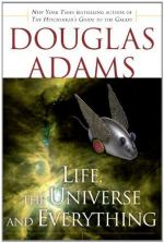 Critical Essay by Tom Hutchinson by Douglas Adams
