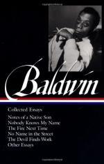 Critical Essay by Keneth Kinnamon by James Baldwin