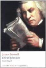 Critical Essay by William Paul Yarrow by James Boswell