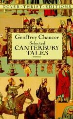 Lecture by J. M. Manly by Geoffrey Chaucer