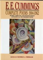 Critical Essay by Milton A. Cohen by