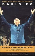 Nobel Prize for Literature by Dario Fo