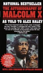 Critical Essay by Michael G. Cooke by Malcolm X