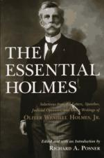 Critical Essay by Oliver Wendell Holmes, Jr. by