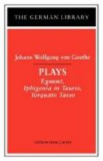 Critical Essay by Edward T. Larkin by Johann Wolfgang von Goethe