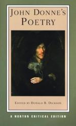 Critical Essay by Arthur F. Marotti by