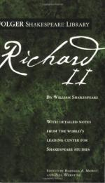 Marlowe's Edward II: Penetrating Language in Shakespeare's Richard II by William Shakespeare