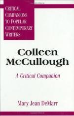 Critical Essay by Margaret Ferrari by
