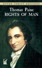 Critical Essay by R. R. Fennessy by Thomas Paine
