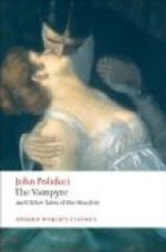 Critical Essay by The New Monthly Magazine by John Polidori