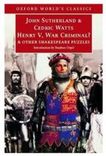 Princes, Pirates, and Pigs: Criminalizing Wars of Conquest in Henry V by William Shakespeare