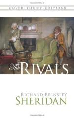 Critical Essay by Anne Parker by Richard Brinsley Sheridan