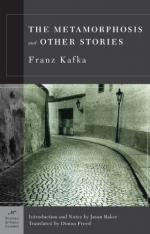 Critical Essay by Peter Dow Webster by Franz Kafka
