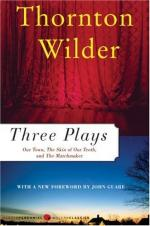 Critical Essay by David Mayer by Thornton Wilder