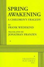 A Children's Tragedy by Frank Wedekind