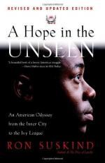 A Hope in the Unseen: An American Odyssey from the Inner City to the Ivy League by Ron Suskind