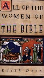 All of the Women of the Bible by Edith Deen
