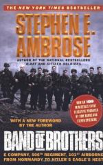 Band of Brothers: E Company, 506th Regiment, 101st Airborne from Normandy... by Stephen Ambrose