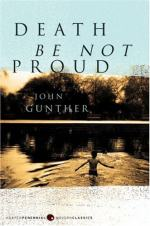 Death Be Not Proud: A Memoir by John Gunther