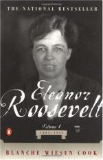 Eleanor Roosevelt, Volume One, 1884-1933 by Blanche Wiesen Cook