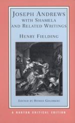 Joseph Andrews ; with Shamela ; and Related Writings: Authoritative Texts, Backgrounds and Sources, Criticism by Henry Fielding