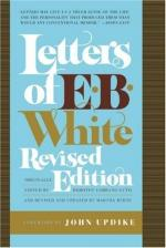 Letters of E. B. White by E. B. White